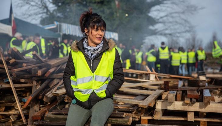 foto de Femmes en gilet jaune : la détermination de celles qui n'ont plus rien à perdre