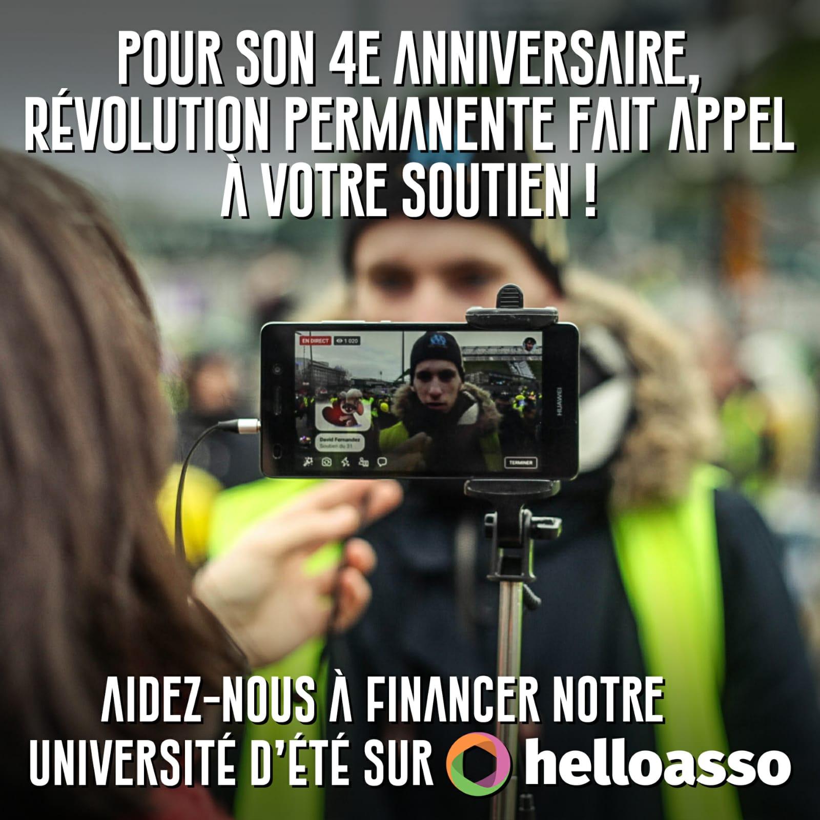 Soutenez l'Université d'été révolutionnaire et Internationaliste #02.