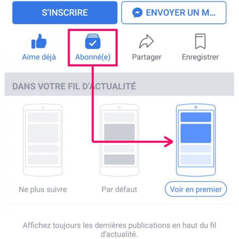 nouvel algorithme de facebook   comment continuer  u00e0 suivre