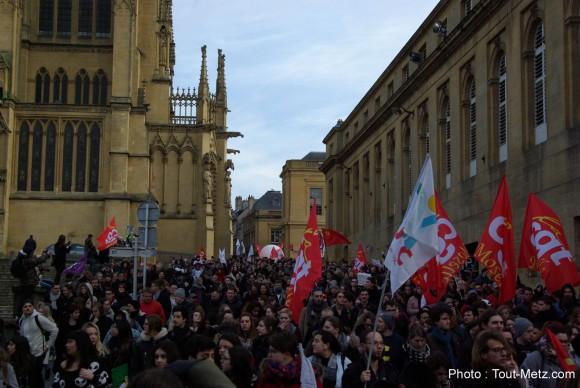 [Vidéo] Répression policière et loi Travail à Metz. Libération immédiate des manifestants interpellés !