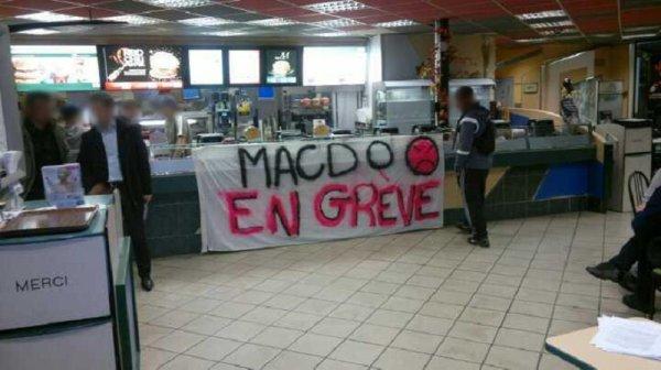 « La fête à Mc Do ». Les travailleurs du géant du fast-food en grève ce 11 mai
