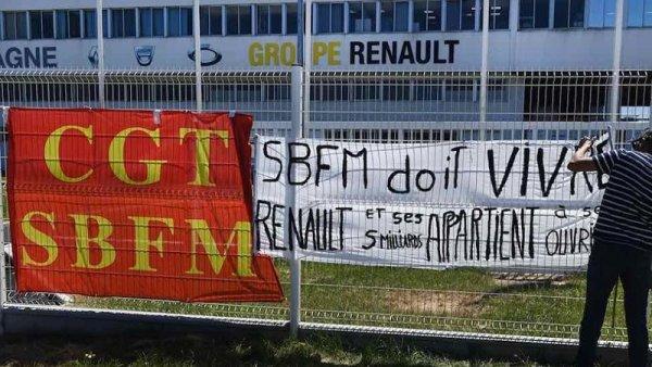 Fermetures d'usines Renault : les salariés de la fonderie de Bretagne montrent la voie à suivre