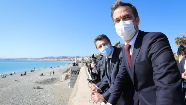 A Nice, Macron expérimente le confinement 100% made in MEDEF