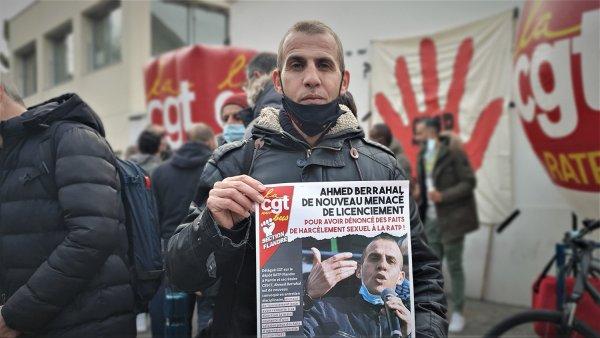 « Va falloir préparer une grève massive ! » Colère au dépôt RATP de Pantin, en soutien à Ahmed Berrahal