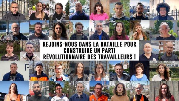 Appel   Rejoins-nous dans la bataille pour construire un Parti Révolutionnaire des Travailleurs !