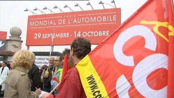 La direction de PSA invite les syndicats à un dîner « VIP » au salon de l'auto. La CGT dit NON !