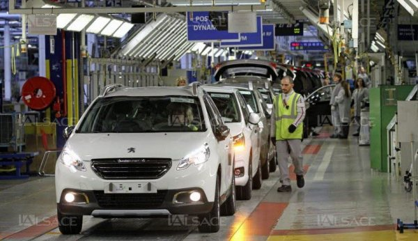 PSA annonce la production d'un nouveau véhicule à Mulhouse… mais sans embauche en CDI !