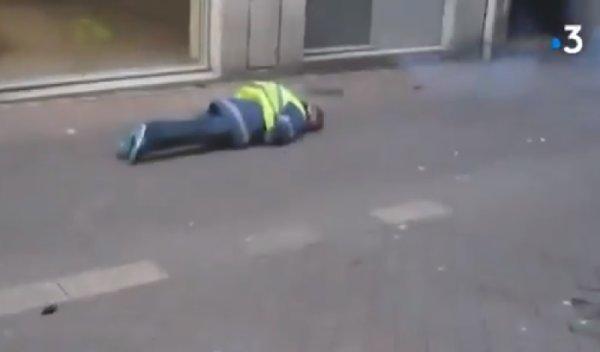 VIDEO. Blessure à la tête, la scène en intégralité : la BAC a tiré dans le dos