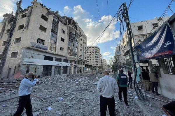 Attaque coloniale : Israël détruit le seul laboratoire de test covid-19 à Gaza
