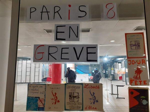 Université Paris 8 : l'UFR Culture et Communication est en grève reconductible, vers une extension ?
