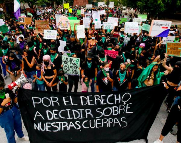Journée mondiale du droit à l'avortement : des révoltes féministes durement réprimées à Mexico